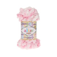 Пряжа Alize Puffy Color меланж (5863)