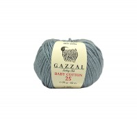 Пряжа Gazzal Baby Cotton 25 серый (3430)