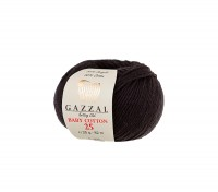 Пряжа Gazzal Baby Cotton 25 черный (3433)