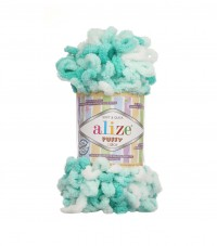 Пряжа Alize Puffy Color меланж (5920)