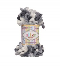 Пряжа Alize Puffy Color меланж (5925)
