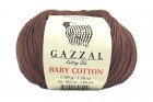 Пряжа Gazzal Baby Cotton мокко (3455)