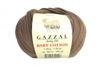 Пряжа Gazzal Baby Cotton мокко (3434)