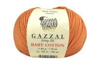 Пряжа Gazzal Baby Cotton персик (3465)