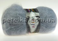 21 - Mohair Classic New - серый - Alize