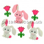 9359 - Пуговицы - Bunny Love (Кролики) - Dress It Up - A Jasse James Company